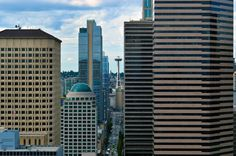 2nd_Avenue_And_Space_Needle_Downtown_Seattle