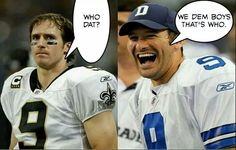 Who Dat..dem Cowboys that's who