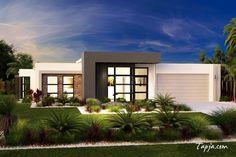 Home decoration:Ideas To Design A House Facade Fashionable Facades Houses Design With Glass Sliding Door Idea As Well White Gray Painting Wall Exterior Also Natural Garden In Backyard Idea