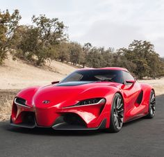 The New Toyota 'Supra' FT-1 Has Been Revealed: Prepare To Have Your Minds Blown! Click the image to watch pure & unadulterated #carporn