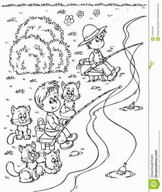 fisher of men coloring pages - photo#24