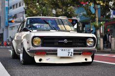 radracerblog:  72′ Datsun Sunny B110