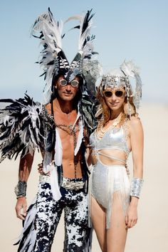 Big-thanks-to-Lana-and-John-Briscella-for-coming to Burning Man-festival Burning Man Style, Burning Man Mode, Ropa Burning Man, Burning Man 2017, Burning Man Girls, Burning Man Art, Burning Man Makeup, Burning Man Costumes, Burning Man