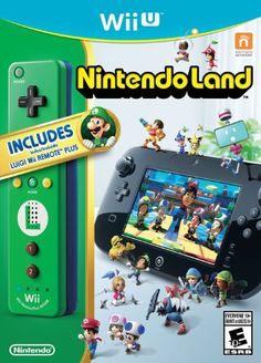 Nintendo Land with Luigi Wii Remote Plus Controller - Wii U - http://battlefield4ps4.com/nintendo-land-with-luigi-wii-remote-plus-controller-wii-u/
