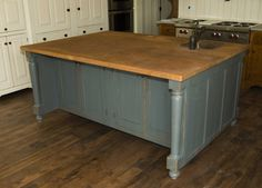 #DavidTSmith custom kitchen island with sink