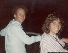 Penny Marshall and Art Garfunkel
