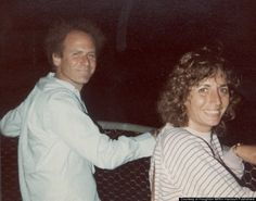 Penny Marshall and Art Garfunkel