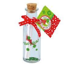Flaschenpost-Viel-Glück