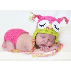 Crochet Owl Cap Beanies JUST $5.56 SHIPPED