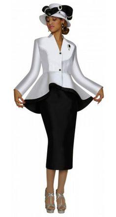 Church suits for women  | Nubiano Ladies Church Suit  - Fall 2013 : N95472  & 149