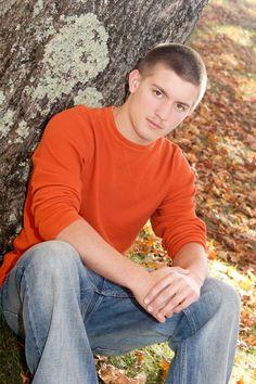 Boy Senior Pose Portrait Session