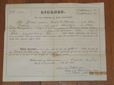 1862 LICENSE for PEDDLER THIRD CLASS, Nelson, NEW HAMPSHIRE, to NOAH  W. HARDY
