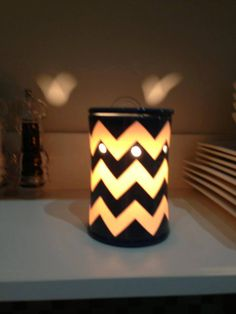 Chevron Collection Fall/winter décor Scentsy Candle Warmer www.courtneyrhowell.scentsy.us