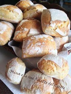 Mina e le sue Ricette del Cuore: Il Cazzottino, panino tipico Pratese.