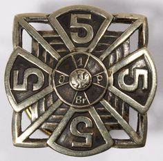 Lot World War II Polish Infantry Badge; Having the original center and brass button en verso World War Ii, Civilization, Badge, Catalog, March, Auction, Polish, Military, War