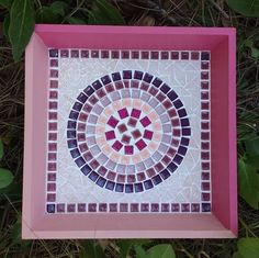 Shop powered by PrestaShop Mosaic Furniture, Mosaic Tray, Mosaic Flower Pots, Vide Poche, Mosaic Crafts, Shadow Box, Stained Glass, Decoupage, Flora