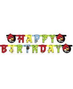 Doğum günü parti süslemeleri için Angry Birds Temalı Harf Afiş malzemesini online olarak uygun fiyatlar ile satın alabilirsiniz