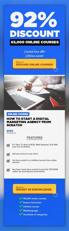How to Start a Digital Marketing Agency From Scratch Entrepreneurship, Business #onlinecourses #learningstyles #studycollege  Discover and copy the exact system I used to build my lifestyle web business from scratch Most successful student:Daniel WallockHelpedBookkeeping Centralearn $726,000 in new leads in 25 days withstrategies learned in this Udemy course !! (ask me for links, I cant po...