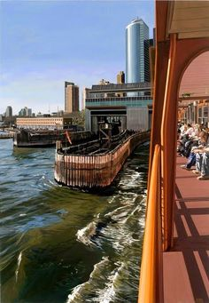 Hyper-realistic paintings of NYC by Richard Estes