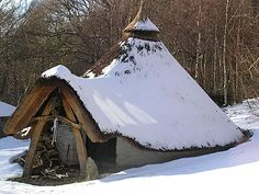 Iron age dwelling.  Okay so Iron age yes, but I could live in this