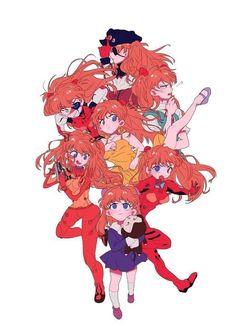 God's in his heaven. Girls Manga, Anime Couples Manga, Cute Anime Couples, Neon Genesis Evangelion, Evangelion Shinji, Asuka Langley Soryu, Good Anime Series, Otaku, Mecha Anime