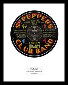 "<span id=""fbPhotoSnowliftCaption"" class=""fbPhotosPhotoCaption"" tabindex=""0"" data-ft=""{""tn"":""K""}""><span class=""hasCaption"">This is our single mount version of the Beatles hit ""Sgt Peppers lonely hearts club band"". On an original Parlophone 12"" vinyl, this is one of our alternative and best loved vinyl designs. Limited Edition.</span></span>  <strong><span style=""color: #ff6600;"">IN STOCK</span></strong>"