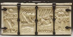 File:French - Casket with Scenes of Romances - Walters 71264 - Back.jpg
