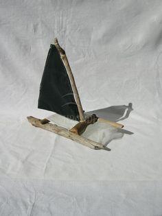 Barca a vela, legno di mare, decorazione, centrotavola matrimonio,torta,stile marino,nautico,casa al mare,giocattolo,soprammobile, [Cod. 15]