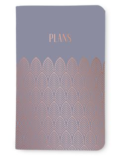 May Designs Celebrates The Trends Of Art Deco And Mixing Metallics In A Beautiful New Notebook