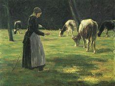 Louis Marie de Schryver (1862-1942) Marie de la Marchande des Fleures
