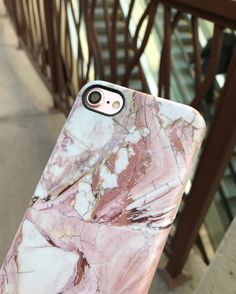 Rose Marble for iPhone 7 & iPhone 7 Plus from Elemental Cases