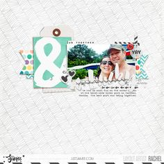 Digital Scrapbooking Layout using Storyteller 2016 March Collection by Just Jaimee.