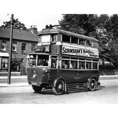 A Corporation trolleybus on Nottingham Road, Nottingham, Nottingham Road, Routemaster, Bus Coach, Busses, Back In The Day, Public Transport, Coaches, Trains, Britain