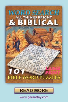 Word Search, Bible, Brainteasers in LARGE easy to read text, from Easy to Challenging difficulty. Based on the majesty of style language found in the 17th Century King James Version of the Old Testament, using words found in the first book of Genesis, and the Proverbs of Solomon, and also including Hebrew names to add a more challenging element to the puzzles. Optimist Quotes, Hebrew Names, Book Of Genesis, Sight Word Games, Daily Goals, Bible Words, Word Puzzles, Puzzle Books, Brain Games