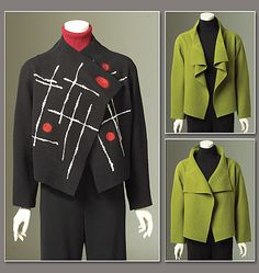 Misses' Jacket- Marcy Tilton  8430  I want this beauty to be my casual jacket!