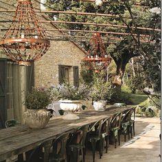 Outdoor candeliers (not chandeliers)
