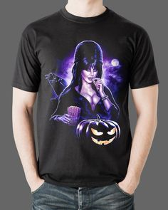 acfedd9099a65 Elvira Mistress of the Dark Tee