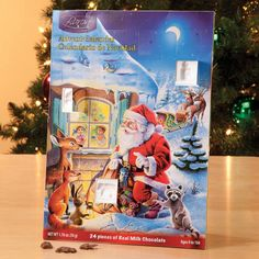 Chocolate Advent Calendar - fun for all ages #adventcalendar #christmas #christmasfun #christmaschocolate #christmaskids