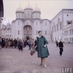 Christian Dior Models in Soviet Moscow, 1959
