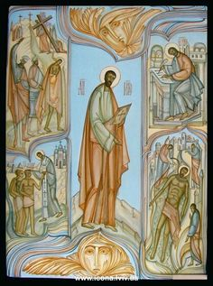 Life of St. Mark the Apostle - contemporary