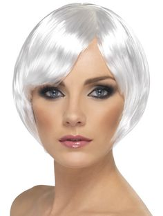 silver afro wig - Google Search