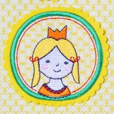 Prinzessin (Applikation), by www.mikronaut.de