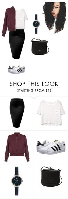 Untitled #65 by mayventu1999 on Polyvore featuring MANGO, New Look, J.TOMSON, adidas Originals, Lancaster and Orla Kiely
