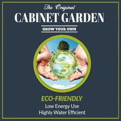 Cabinet Garden™ is Eco-Friendly. Low energy use and highly water efficient. #hydroponic Home Growing Solution. #hydroponics #aeroponics #superponics #homegrow #homegrown #urbanfarmer #urbanfarm #urbanfarming #diy #doityourself #farmtotable #growyourown #growyourownfood #organic #eatwhatyougrow #vegetables #herbs #fruit #germination #plants #instagardenlovers #instagarden #grow #hydro #growbox #growroom #growcabinet #growcloset #CabinetGarden