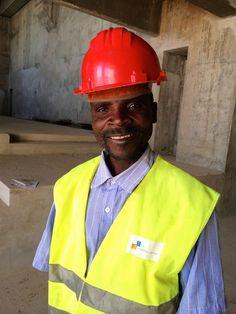 Mota-Engil employee, Calueque Dam, Southern Angola