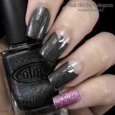 Nail Art By Belegwen: Color Club Revvvolution and Depend Primrose