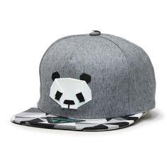 Amazon.com: Animal Panda Penguin Black/White Flat Bill Snapback... (295 ZAR) ❤ liked on Polyvore featuring accessories, hats, flat bill hats, panda hat, baseball snapback hats, panda animal hat and snap back hats