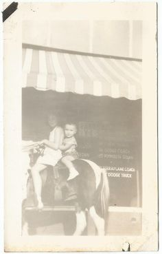 Young Girl W Baby Horse Back Store Front Window OLD Vintage Photo Snapshot M373 | eBay Store Front Windows, Pony Rides, Baby Horses, Vintage Photos, Ebay, Vintage Photography