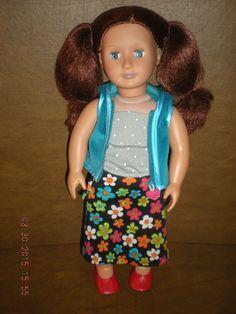"Battat - 18"" Doll w/ Arburn Hair & Blue Eyes - Sweet Doll #DollswithClothingAccessories"