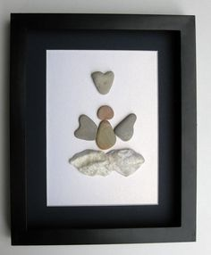 Special Edition Angel Design- Memorial Art - Motivational Gift - Pebble Art - Angel Art on Etsy, $85.00 CAD